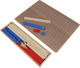 Demonstration Supplies 1 Set Montessori Math Materials Addition Strip Board for Preschool Early Learning Tool Stationery