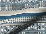 Polsterstoff KALTERN CS 950 Muster Streifen, Farbe blau,