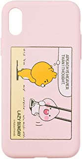 KAKAO FRIENDS Official- Lazy Sunday iPhone Case (Pink, 7/8)