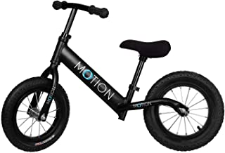 MOTION Kids Balance Bike, No Pedal Mini Bicycle, Riding Scooter, Walking Bicycle with Adjustable Handlebar and Seat, Outdoor Activities Bicycle for Children Riding Toys