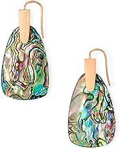 Kendra Scott Marty Abalone Shell 14k Rose Gold Drop Earring