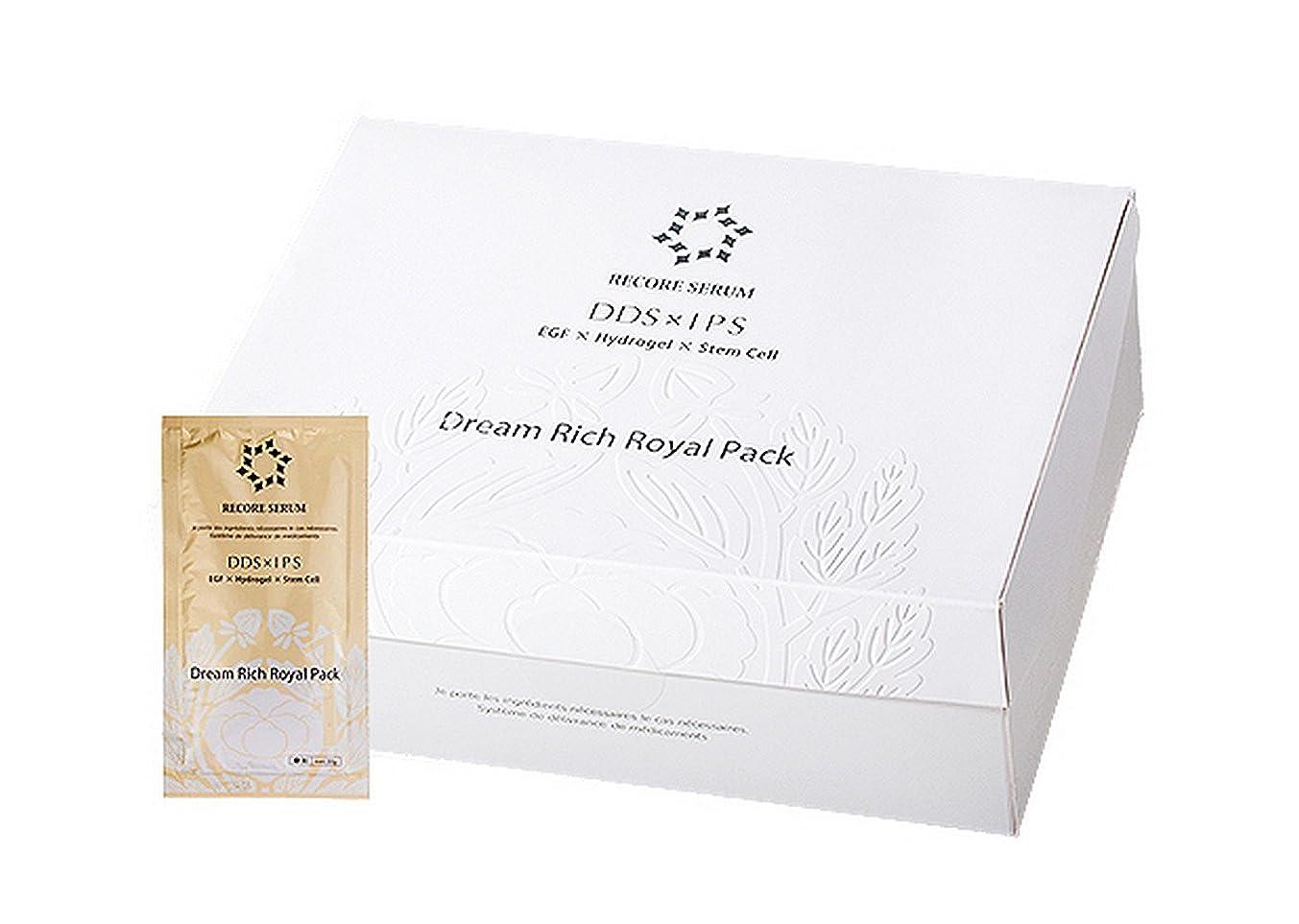 出席傑出した主導権リコアセラム ドリーム リッチロイヤル パック 15セット入り 日本製 RECORE SERUM 炭酸パック 正品