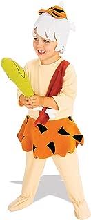 Rubie's Little Boys' BAMM BAMM Costume Toddler Orange,tan