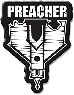 JUST FUNKY AMC's Preacher Collectibles Enamel Collector Pin | Collectors Edition Grey