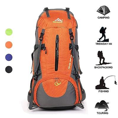 Huwaijianfeng Hiking Backpack 50L Waterproof Ba...