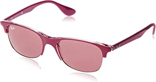a572eab966 Ray-Ban 0RB4319 Gafas de sol, Top On Transparente Pink, 55 Unisex