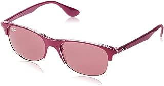 RB4319 Sunglasses,55mm,Pink/Dark Violet