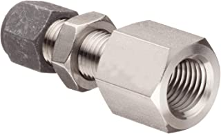 Brennan Industries C6400-06-08-O Steel Straight Flareless Bite Type Fitting 3//8 Bite Type Tube x 3//4-16 Male O-Ring Boss 3//8 Bite Type Tube x 3//4-16 Male O-Ring Boss Inc.