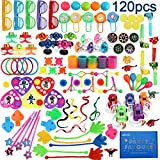 nicknack 120PCS Assortiment de Jouets Enfants Party Favors Fournitures Anniversaire Faveur Cadeau Partie Sac Remplissage Jouets Mix Pinata Fillers Kit