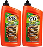 floor polish wood - Orange Glo 4-in-1 Monthly Hardwood Floor Polish - Orange - 32 oz - 2 pk