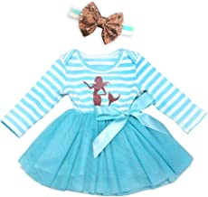 Baby Blue Dress, Infant Toddler Girls Mermaid Tutu Tulle Skirts Birthday Party Princess Dress Fall Clothes Outfits
