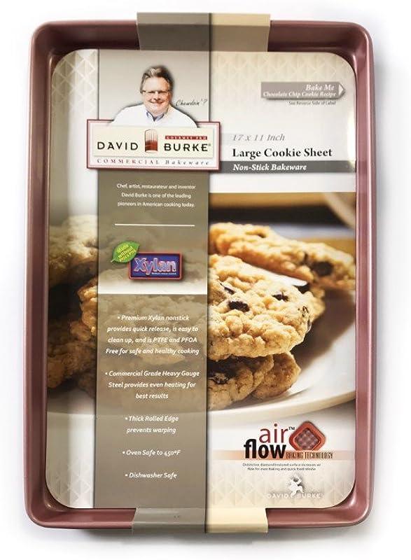 David Burke Large Cookie Sheet 17x11 Rose Gold