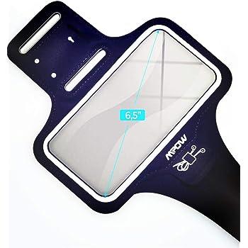 ランニングアームバンド スポーツ ランニング スマホ アームバンド MPOW欧米で大評価、今日本で初売り、タッチ操作OK 防水防汗 軽量 小物収納 調節可能 夜間反射 iPhone 11 Pro/11/XR/Xs MAX/8/7/6S/6 PLUS、Xperia、Samsung、Androidなど 6.5インチまでのスマホに対応