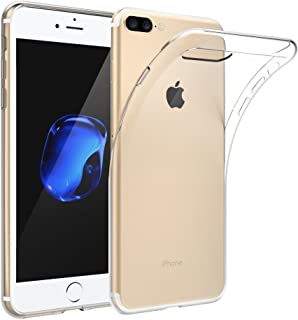 iPhone 7 Plus Kılıf Kapak 0.2 mm Ultra İnce Lazer Kesim Transparan Şeffaf Silikon