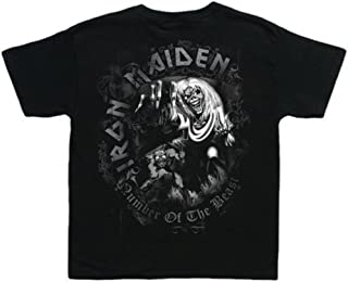 Iron Maiden 'Number of The Beast Grey Tone' Toddler T-Shirt