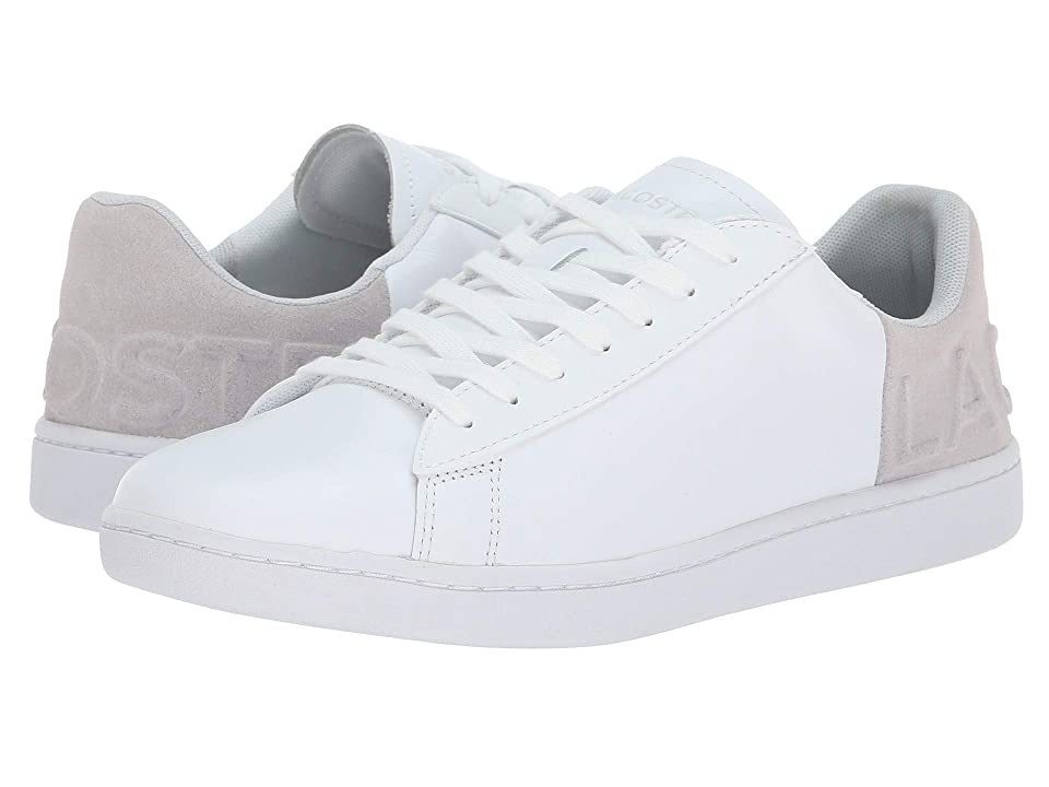 Lacoste Carnaby Evo 318 3 (White/Light Grey) Women