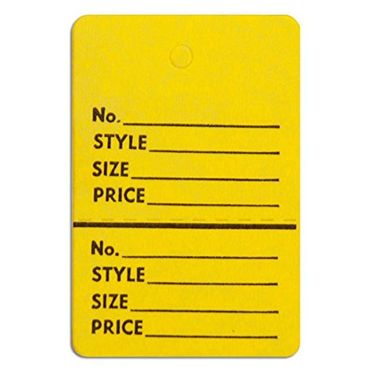 KC Store Fixtures 09106 Perforated Tags Selling rankings Max 42% OFF Merchandise without Stri