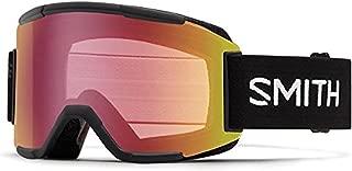 Smith Optics Squad Adult Snowmobile Goggles Black / Red Sensor Mirror