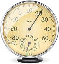 Higrometro Digital Termometro Higrometro Digital Relojes Jardin Hogar Termómetro Higrómetro Hogar Alta Precisión Retro Madera Grano Color Higrómetro Mecánico