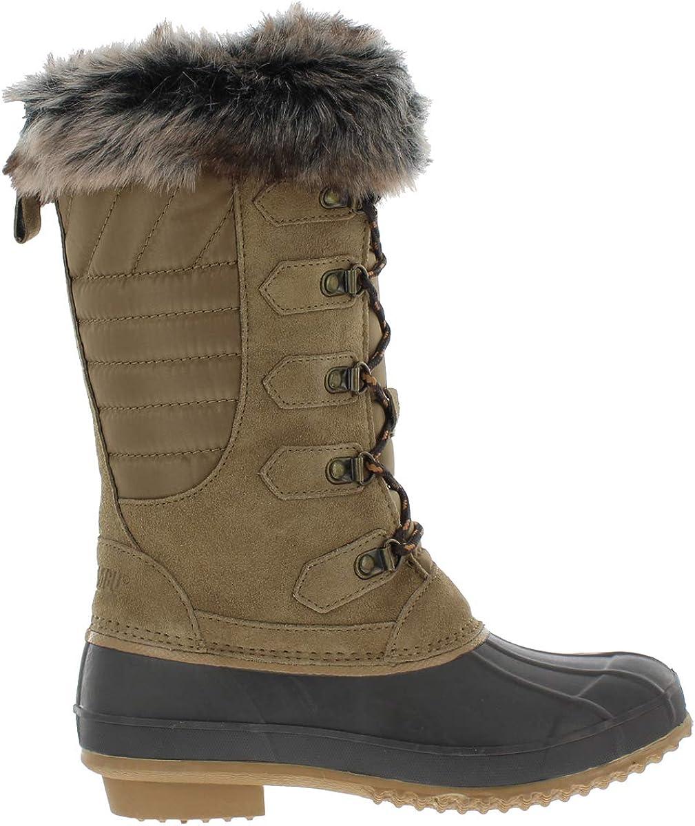 Khombu Caelyn Waterproof Winter Duck Boots for Women