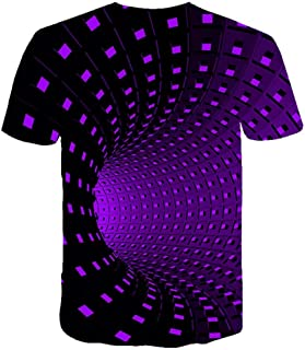 Sponsored Ad - Men's Daily Plus Size T-Shirt Graphic 3D Print Short Sleeve Tops Streetwear Punk & Gothic Round Neck Black ...