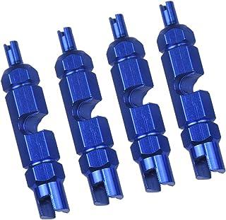 D DOLITY Chave de fenda para remoção de núcleo de válvula Schrader Presta – Azul, 54 mm
