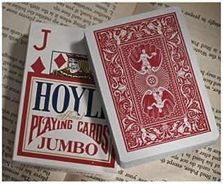 Hoyle Jumbo Index Playing Cards - 1 Sealed Red Deck