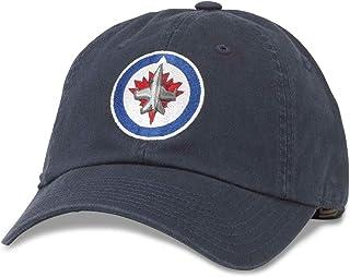 AMERICAN NEEDLE Blue Line NHL Team Adjustable Buckle Strap Dad Hat