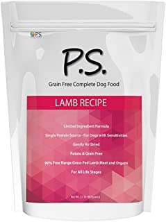 Ps For Dogs 100% Hypoallergenic Dog Food - No More Paw Licking & Skin Scratching – Solves Allergies Naturally - No More Ha...