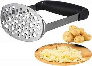 Kartoffelstampfer – Smaier Glatte Kartoffelschäler Kartoffelpresse aus rostfreiem..