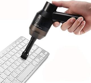 CrazyFire Kit d'Aspirateur Clavier,Rechargeable Mini USB Aspirateur Sans Fil Portable pour Clavier Keyboard Ordinateur Sou...