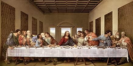 The Last Supper by Leonardo Da Vinci Art Print, 24 x 12 inches