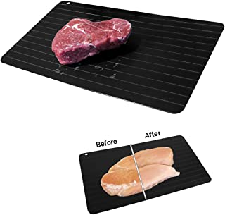 Evelots NEW Meat Defrosting Tray-Thaws Food Fast-Large Size-No Microwave-Set/2