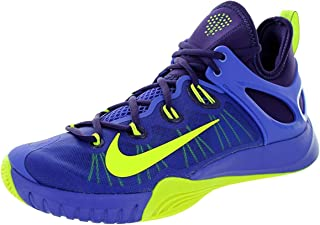 Men's Zoom Hyperrev 2015 Basketball Shoes 705370-575 Persian Violet/Volt-Ink Size 12