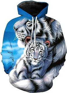 3d tiger hoodie