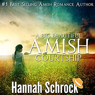 A Big Beautiful Amish Courtship cover art