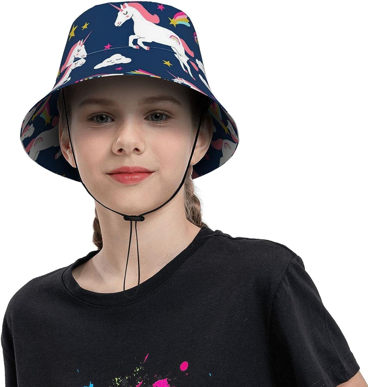 Rainbow Unicorn Max 63% OFF OFFicial store Kids Sun Hat UPF Bea Protection 50+ Girl Boy