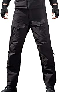 FREE SOLDIER Men's Outdoor Tactical Pants Ripstop Military Combat EDC Cargo Pants Lightweight Hiking Work Pants