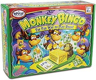 Popular Playthings Monkey Bingo Card Game