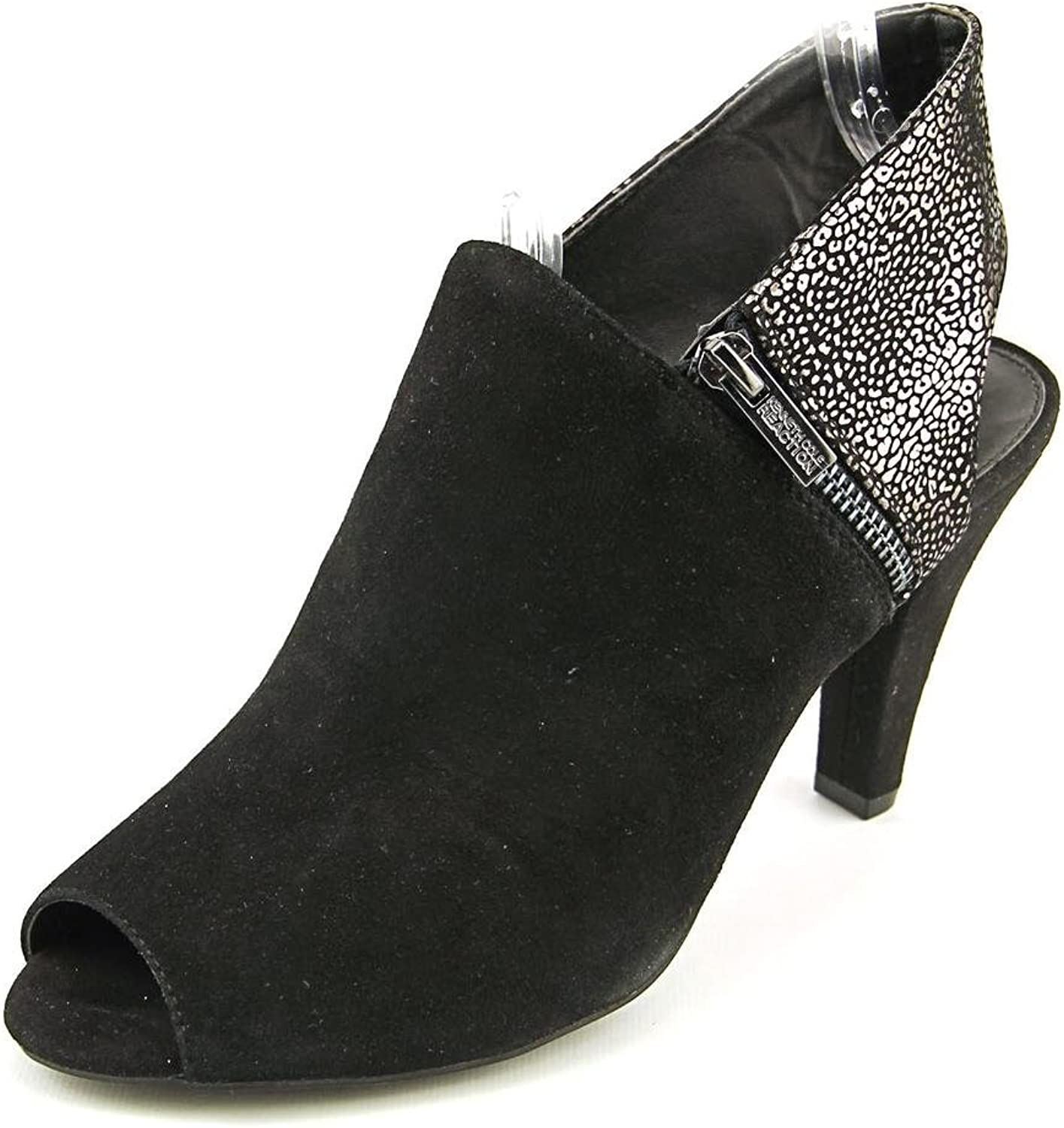 6074f969a1bc1 Kenneth Cole REACTION Women's Shock Peep Toe Shootie Shell ...