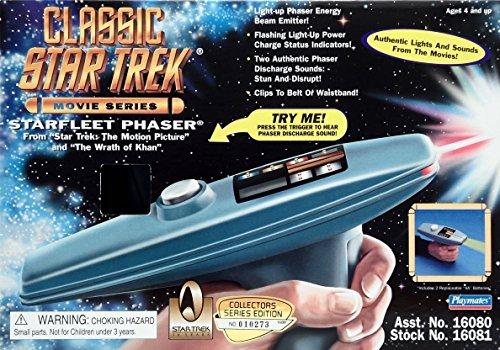 Star Trek Classic Movie Series Starfleet Phaser by Star Trek