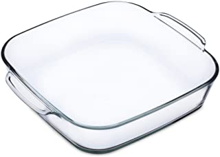 Simax Glassware Simax square dish 1.6 l, one size, clear