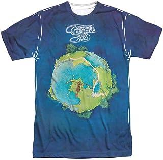 Yes Progressive Rock Band Fragile LP Cover Camiseta para adultos con impresión frontal