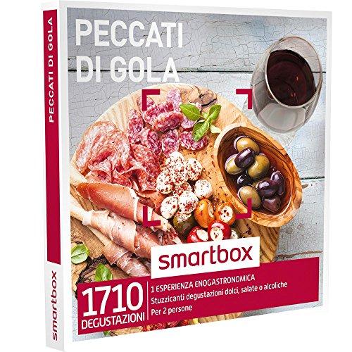 Smartbox - Peccati Di Gola - Stuzzicanti Degustazioni Dolci, Salate o Alcoliche, Cofanetto Regalo, Gastronomia