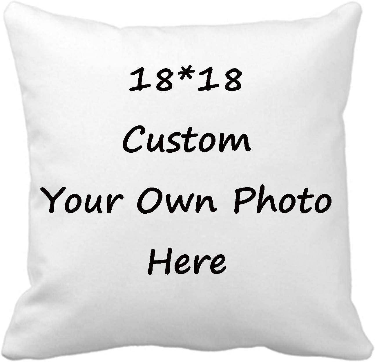 Custom Pillow Case Design Max 45% OFF Photos or Text Customize Throw Popular popular