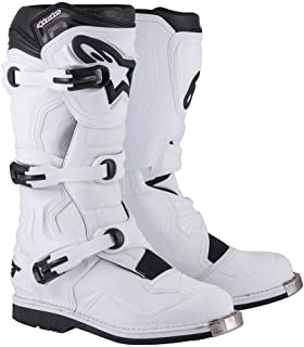 Botas de cross y enduro Alpinestars de piel Tech 1 45.5 Bianco