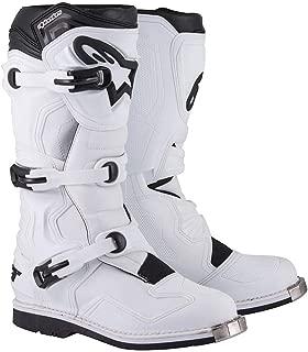 Alpinestars Tech 1 Boots-White-5