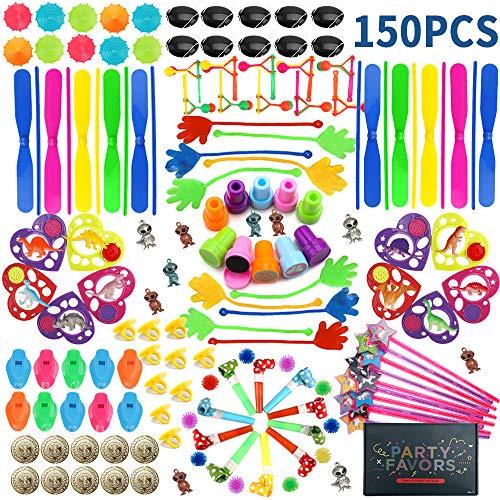 nicknack 150 Piezas Relleno Pinata Infantil Juguetes,Unidades para niños Niños y Niñas piñata cumpleaños Infantil cumpleaños Partido Regalos