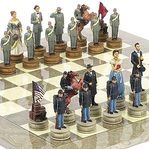 Check Price American Civil War Chessmen Chessmen & Greenwich