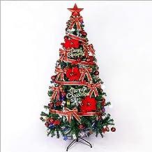 WSJTT Seasonal Décor Christmas Trees Artificial Christmas Tree Artificial Tips Eco-Friendly Xmas Pine Tree Gold Ornament C...